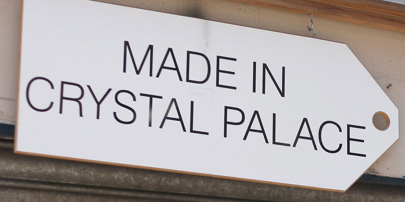 Area photography, Crystal Palace street sign detail
