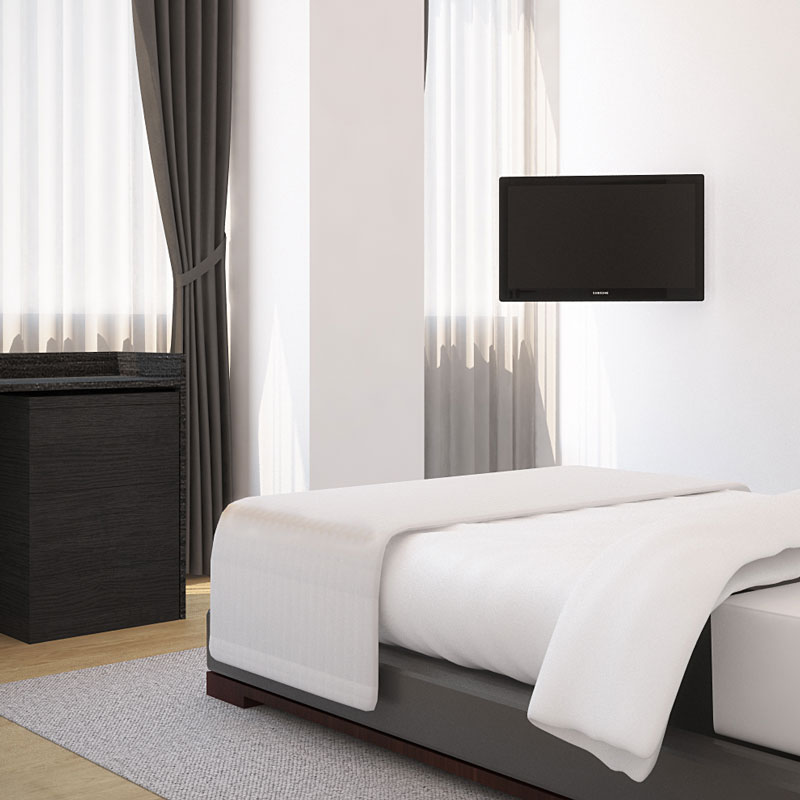 3D property CGI design bedroom