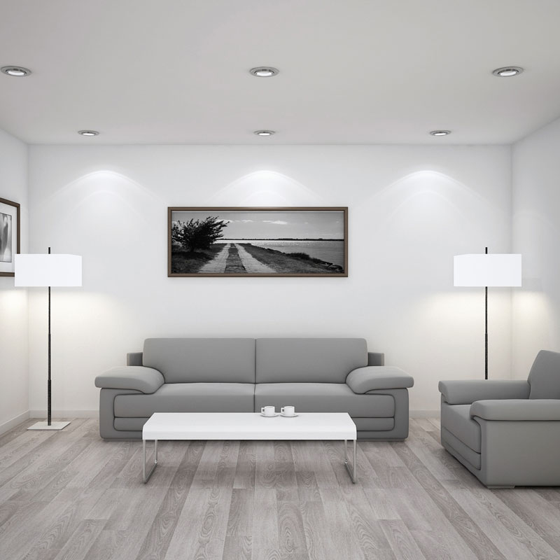 3D CGI property interior living room