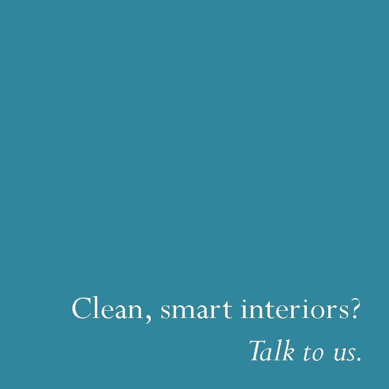 Clean smart interiors