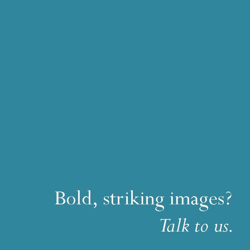 Bold, striking images