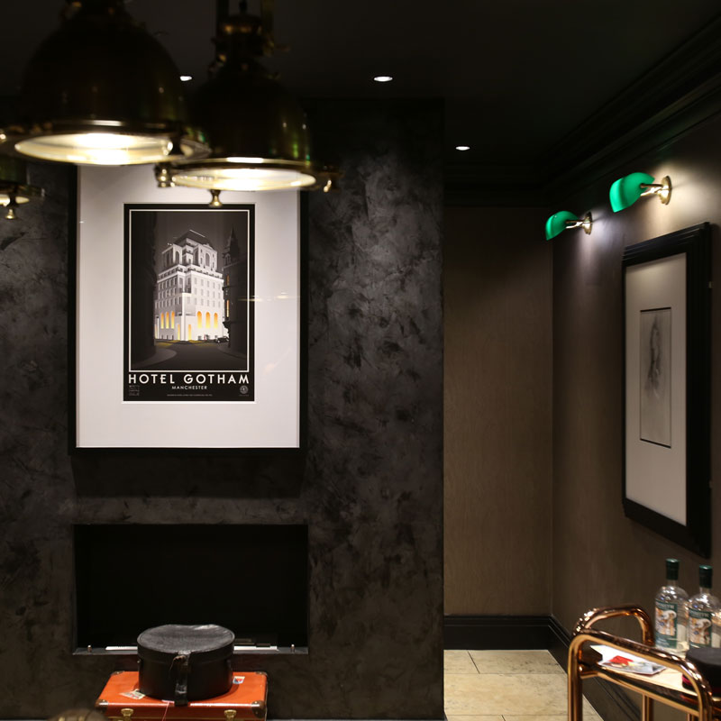 Hotel Gotham - interior decoration