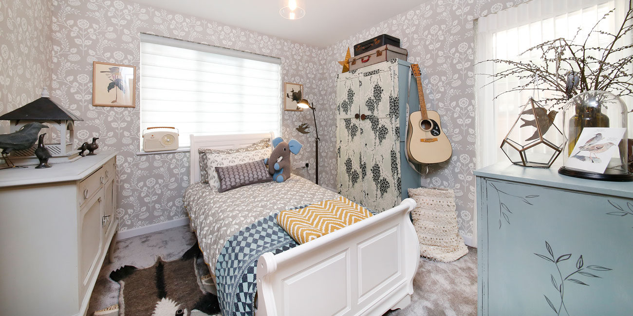 Ideal Home Show photography - interior set, bedroom