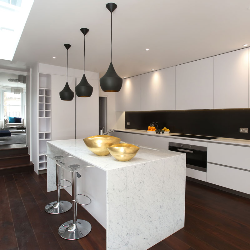 Interior photography, kitchen
