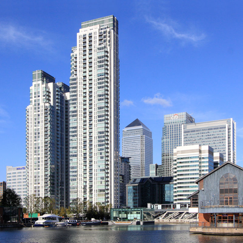 Property photography Canary Wharf