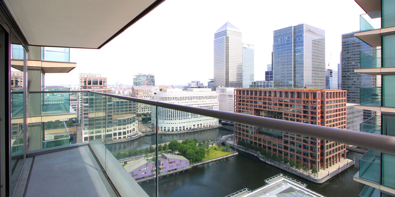 Property photography balcony view London