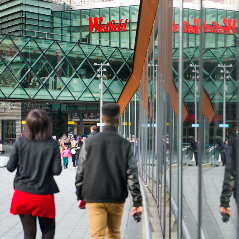 Area photography, Westfield shopping centre
