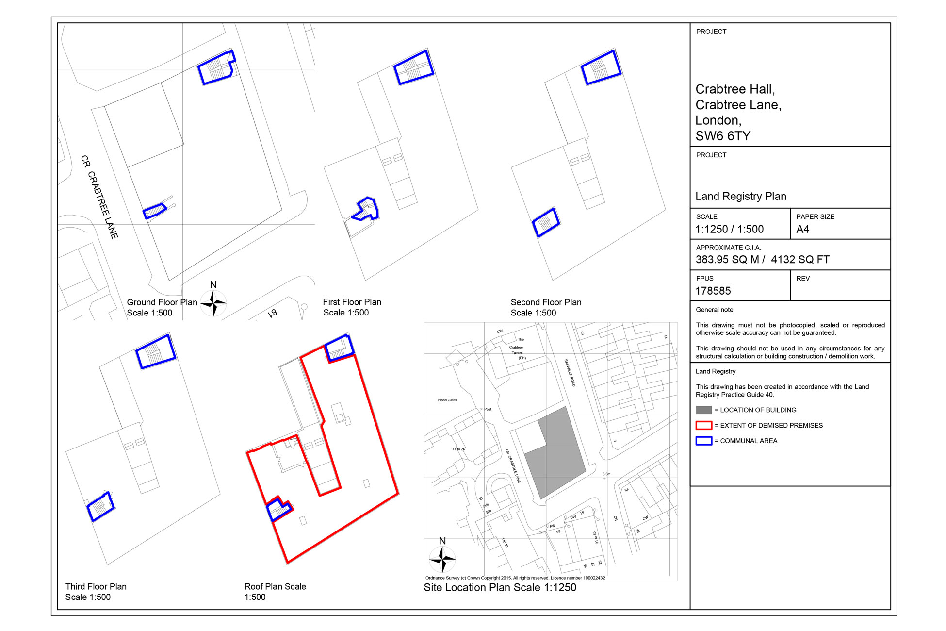 Land Registry plan