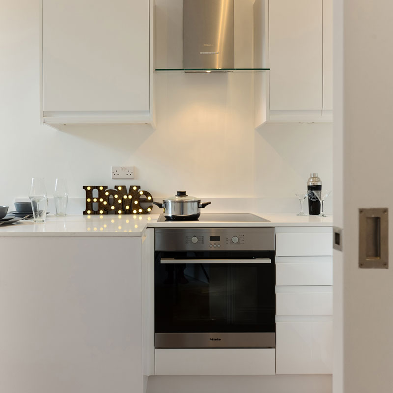 Interior photography, kitchen detail