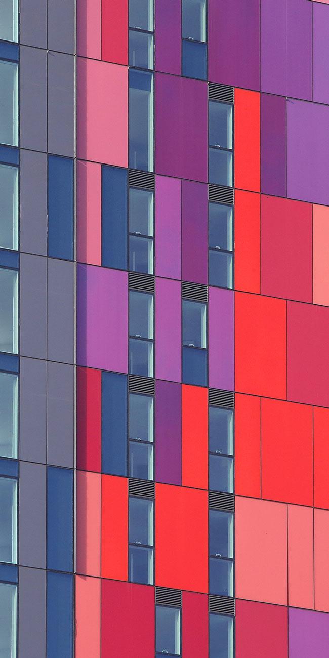 Exterior property photography, Saffron Square Croydon