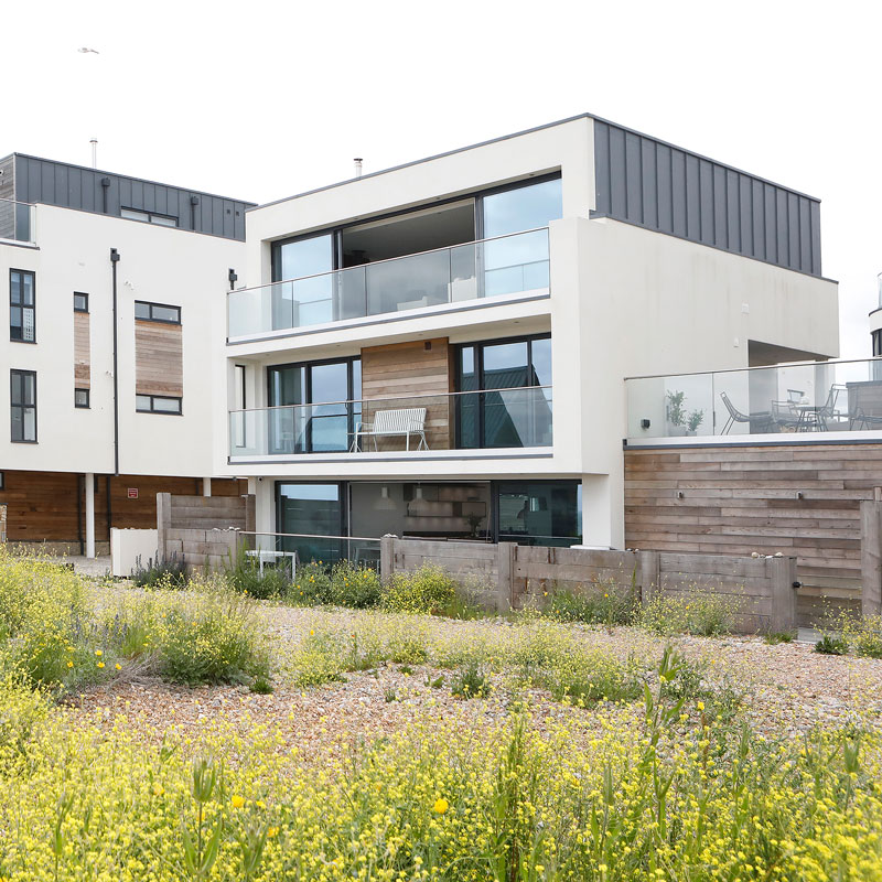 Exterior photography, modern architecture