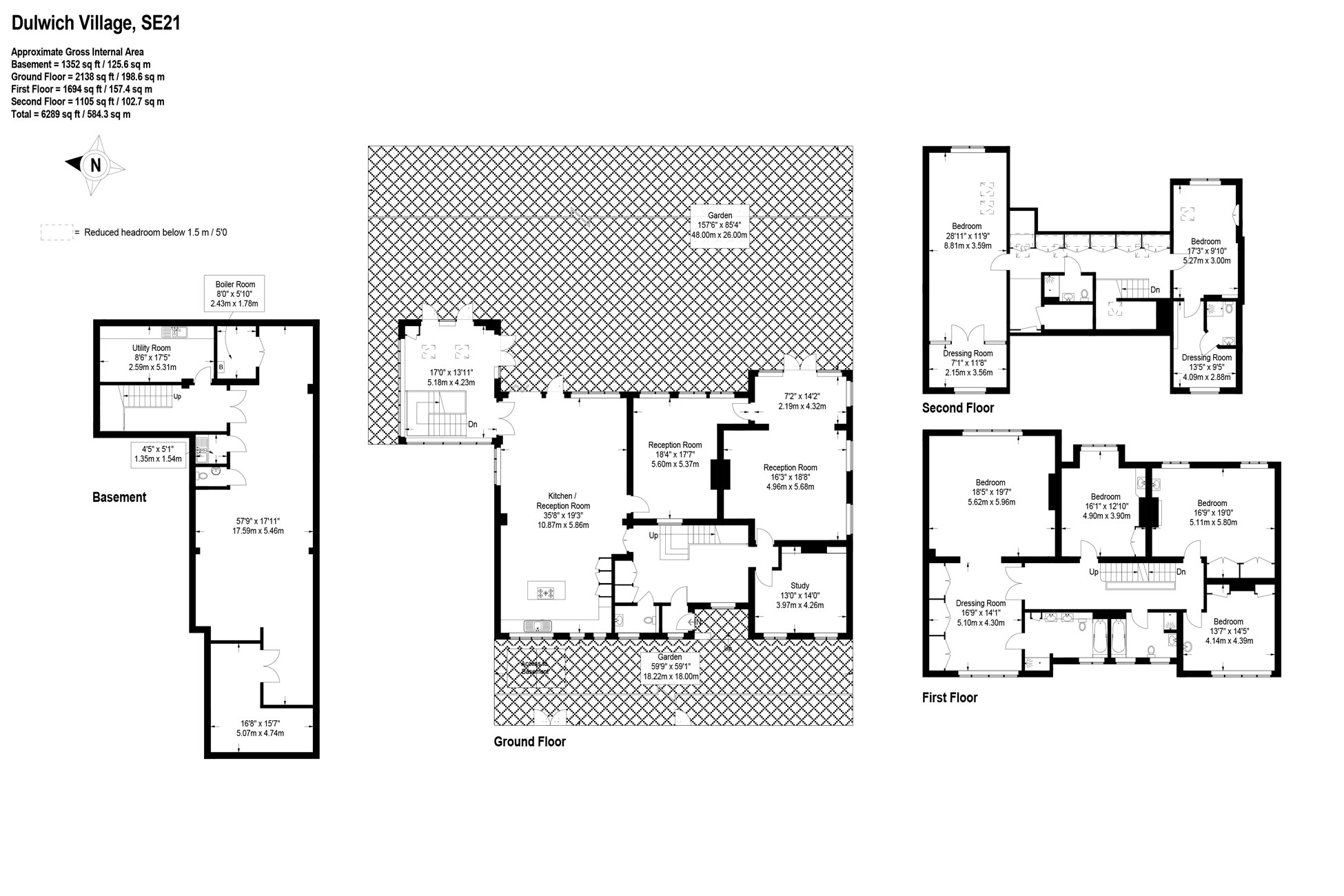 Floor plan for residential property