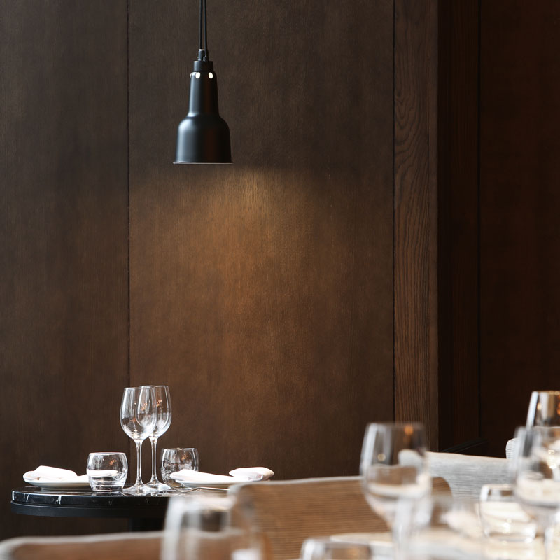 Hotel photography, fine dining