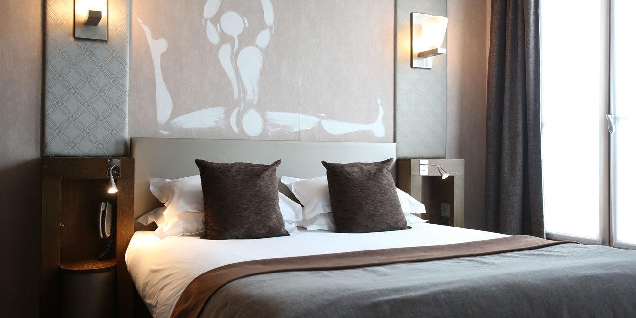Hotel photography, bedroom