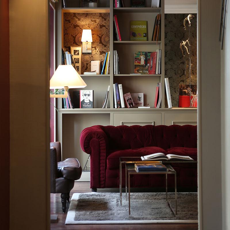 Hotel photography, soft furnishings