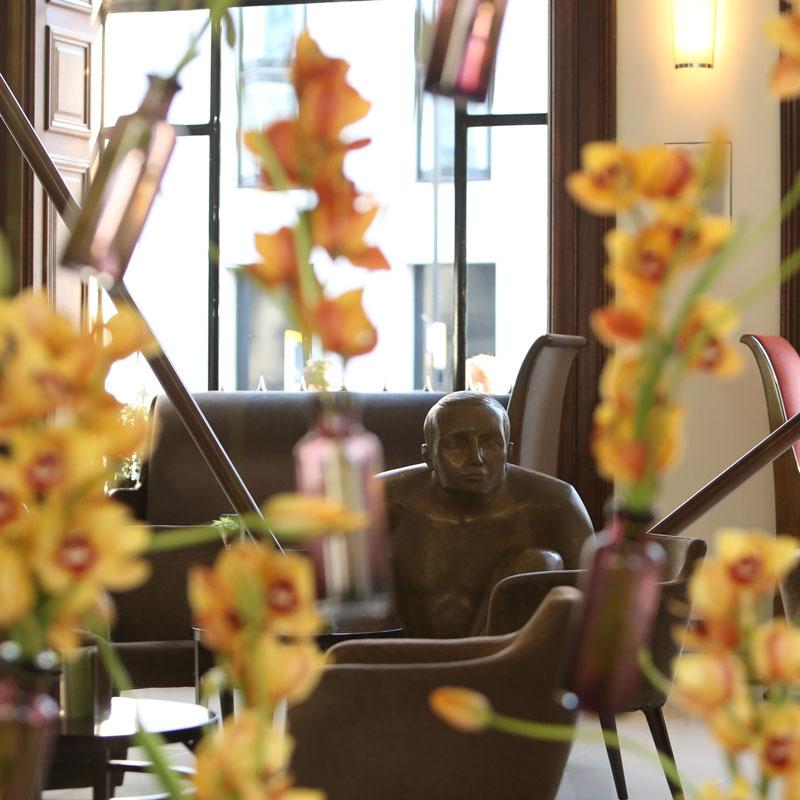 Hotel photography, interior design detail