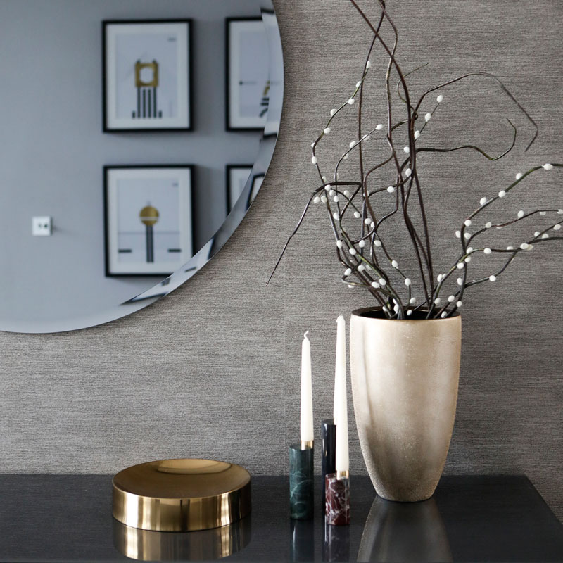 Interior photography, mirror + accessories