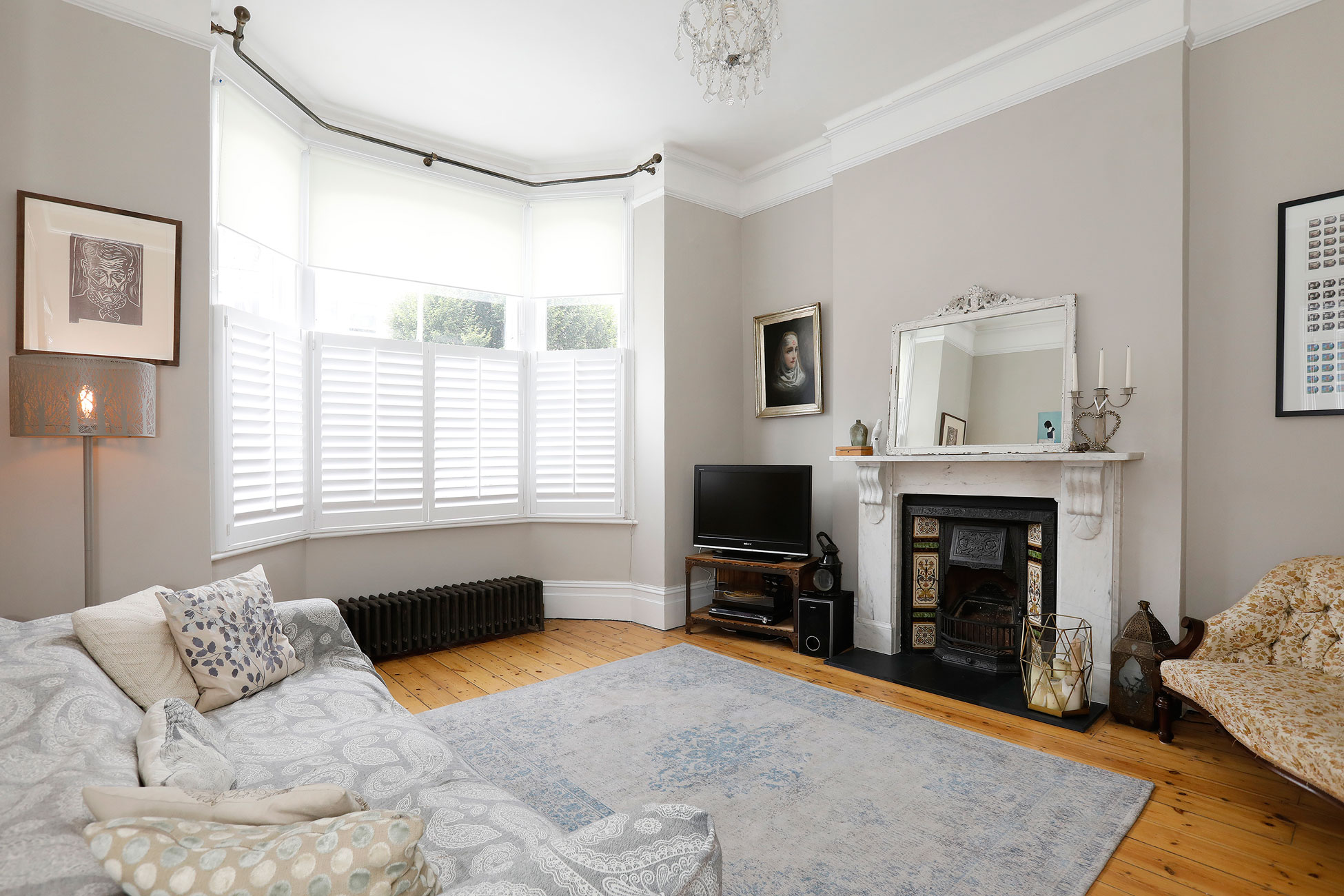 Property photography for home owners, living room