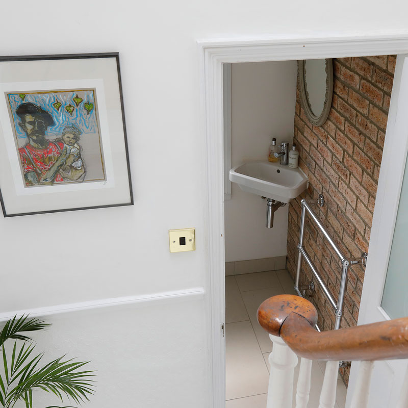 property photography for home owners - hall + stair