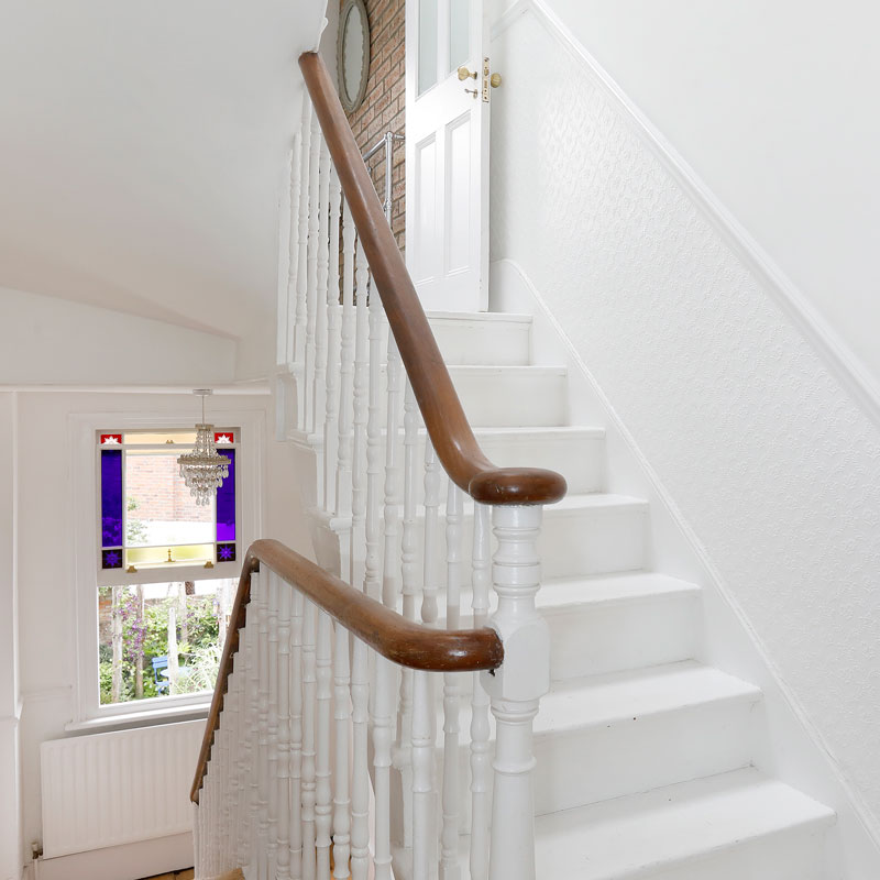 Home owners photography, interior staircase view