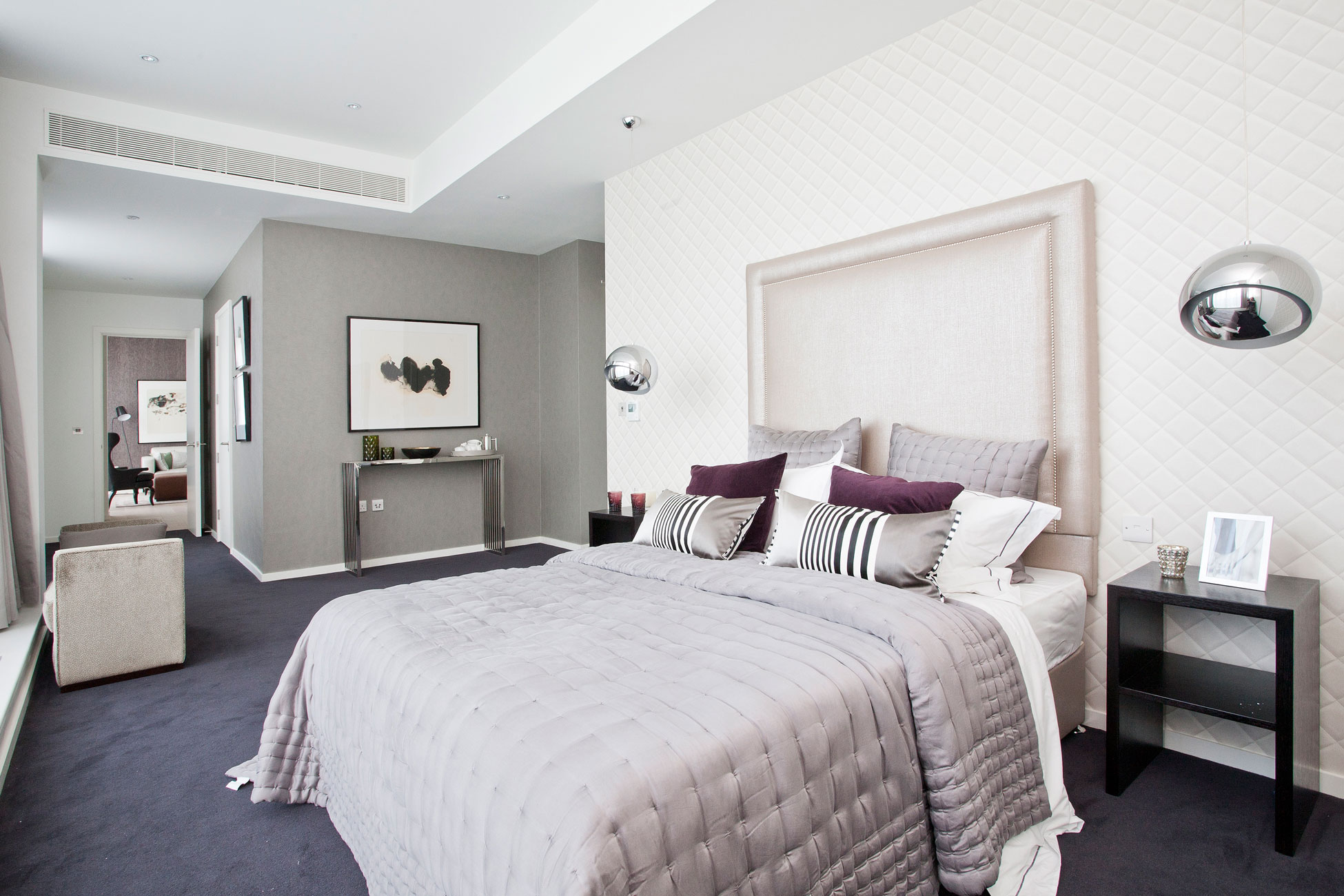 Property photography bedroom interior